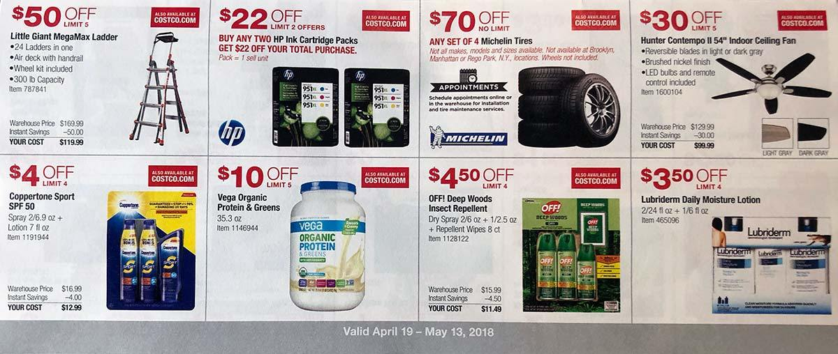 What Are The New Costco Coupons For April 19 To May 13 Plunged In