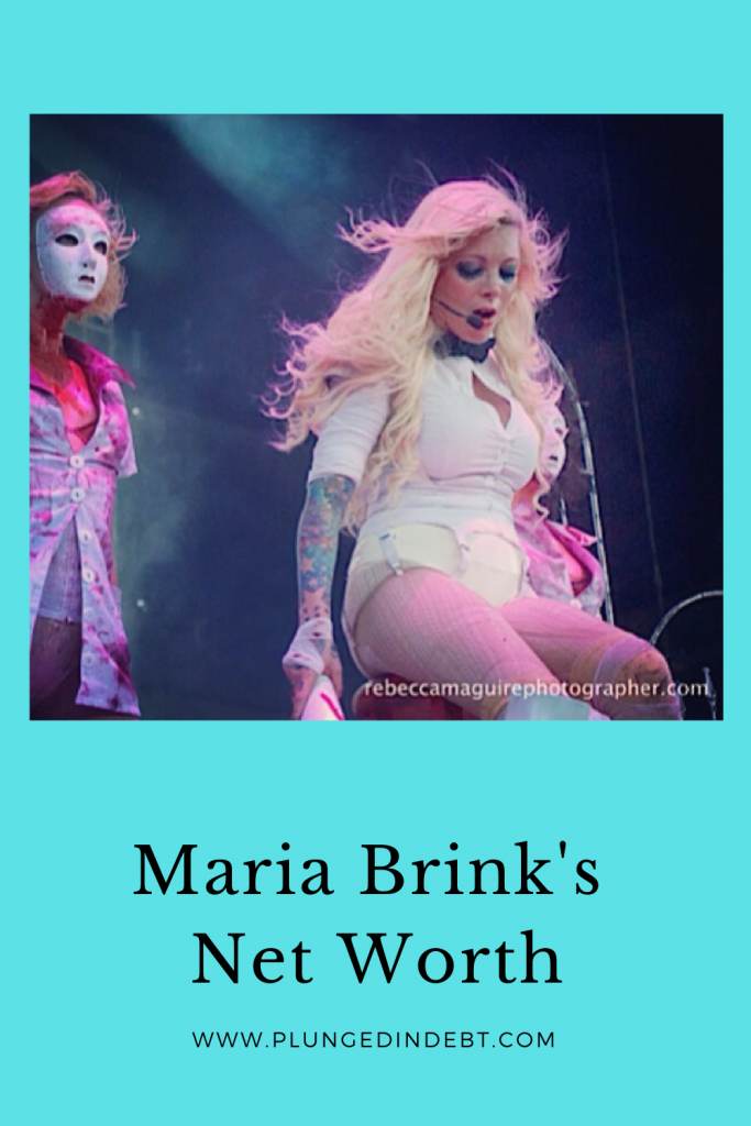 Maria Brink's net worth