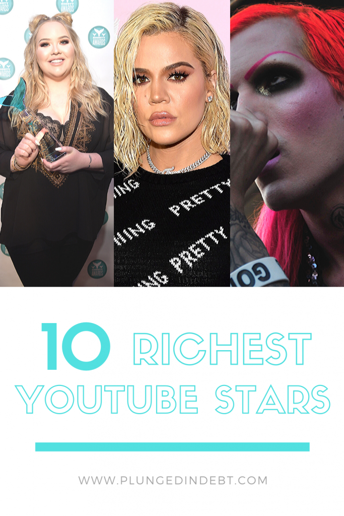 richest youtube stars