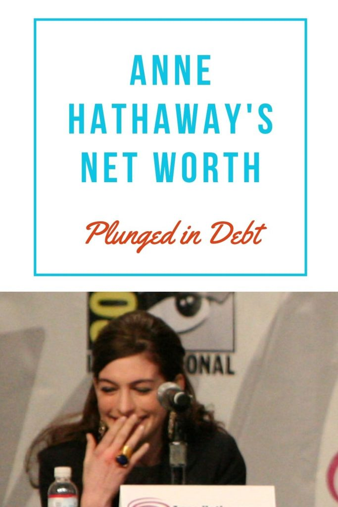Anne Hathaway's net worth