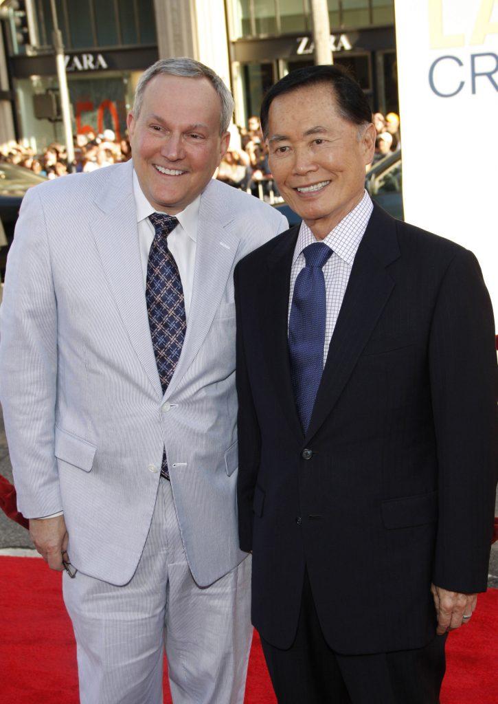 Brad and George Takei
